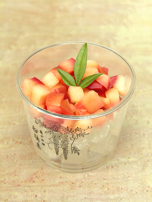 リンゴ酢寒天