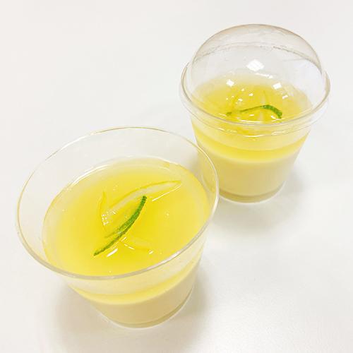 瀬戸内レモンとお豆富のチーズケーキ